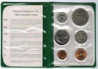 1982 RAM UNCIRCULATED  UNC  6 COIN MINT SET   XII COMMONWEALTH GAMES