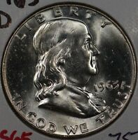 1963 D 50C FRANKLIN HALF DOLLAR MINT STATE 146096