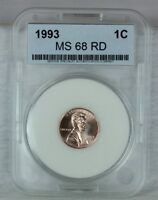1993 P 1C RD LINCOLN CENT PENNY 1C BU  HIGH QUALITY US COIN MS/BU/UNCIRCULATED