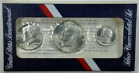 UNITED STATES BICENTENNIAL SILVER UNCIRCULATED SET 1776   1976   USA 1/4 1/2 1 $