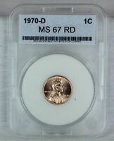 1970 D 1C RD LINCOLN CENT PENNY 1C BU  HIGH QUALITY US COIN MS/BU/UNCIRCULATED