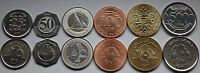 LEBANON 1996   2012 6 COINS SET : NEW 500 LIVRES  50 LIVRES  HIGH GRADE