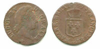 FRANCE   LOUIS XV DEMI SOL 1769 D   NICE COIN NICER IN HAND LOOK KM 544.4