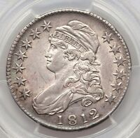 1812 CAPPED BUST HALF PCGS XF45 SILVER HALF DOLLAR NICE NATURAL TYPE COIN O 103