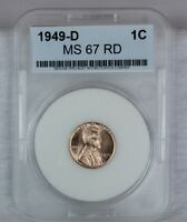 1949 D 1C RD LINCOLN WHEAT CENT PENNY 1C BU US COIN