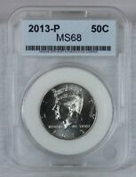 2013 P SMS 50C SATIN FINISH KENNEDY HALF DOLLAR MINT STATE HIGH QUALITY US COIN