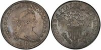 1806 DRAPED BUST HALF DOLLAR POINTED 6, STEM O-116 PCGS VF-30 GREAT TYPE COIN