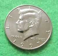 1997 D KENNEDY HALF DOLLAR COIN