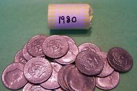 1980 KENNEDY HALF DOLLAR ROLL 20 COINS
