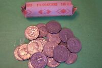 1985 D WASHINGTON QUARTER ROLL   40 COINS