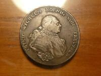 GERMANY PRUSSIA 1790 A F VF CONDITION 2813J