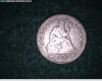 1853 SEATED LIBERTY QUARTER ARROWS & RAYS   53 125
