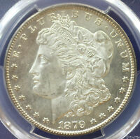 1879-S MORGAN SILVER DOLLAR PCGS MINT STATE 65 CERTIFIED COIN