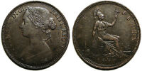 UK 1860 VICTORIA PENNY TOOTHED BORDER FREEMAN 10 2D