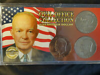 EISENHOWER DOLLAR OVAL OFFICE COLLECTION 1971 1978 PLUS 1776 1976 COIN