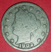 1902 LIBERTY NICKEL  ID 6-16