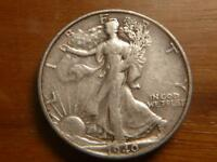 1940 S WALKING LIBERTY HALF DOLLAR, EXTRA FINE  CONDITION, SKU 7701
