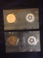 LOT OF TWO 1776 1976 AMERICAN BICENTENNIAL MEDALS