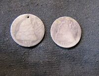1875 & 1890 SEATED LIBERTY SILVER DIMES WITH ISSUES