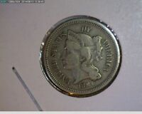 1881 THREE CENT NICKEL   77 71