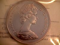 CANADA GEM 1970 NICKEL $ ICCS PL 66 FLAW LESS MIRROR SURFACES SUPERBLY STRUCK