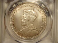 1935 SILVER DOLLAR $1 CANADA KING GEORGE V MS65 PCGS GRADED CERTIFIED KEY DATE
