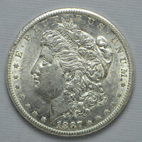 1887-S MORGAN SILVER DOLLAR CCX9913