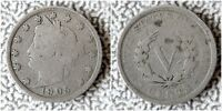 1905 LIBERTY HEAD V NICKEL, BUY 5 COINS GET $2 CASH  - SHIPS FREE