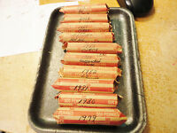 1984    CIRC ROLL OF PENNIES   YOU ARE BIDDING THIS LISTED ROLL ONLY