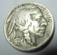 1929S BUFFALO NICKEL   STRONG DATE & DETAIL