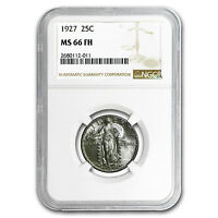 1927 STANDING LIBERTY QUARTER MINT STATE 66 NGC FULL HEAD - SKU 96534