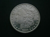 USA 1 MORGAN DOLLAR 1883 CC SILBER CARSON CITY    SEMI  KEY DATE