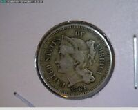 1881 THREE CENT NICKEL   13 71
