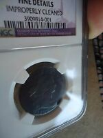 1802 DRAPED BUST LARGE CENT NGC FINE DETAILS  NICE DETAIL & GREAT COLOR