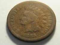 1865 INDIAN HEAD CENT GOOD