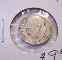 1949 S ROOSEVELT SILVER DIME KEY DATE LOT A