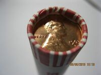 1963 D  LINCOLN MEMORIAL CENT BRILLIANT UNCIRCULATED ROLL