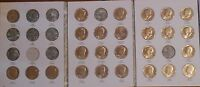 LOT OF 26 KENNEDY HALF DOLLAR S HALVES 1971   1984 D IN HARRIS FOLDER