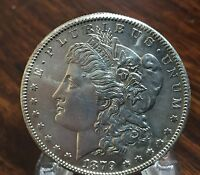 1879-S MORGAN DOLLAR- BRILLIANT UNCIRCULATED- BETTER DATE MORGAN- FAST SHIPPING