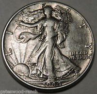 1944 P  LIBERTY WALKING SILVER HALF DOLLAR   NICE COIN WITH GOOD DETAILS