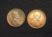 1930 & 1930 S LINCOLN CENT RED-BROWN