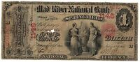1865 $1   MAD RIVER NATIONAL SPRINGFIELD OH CH.1146   ONLY 4 KNOWN   BEST OFFER