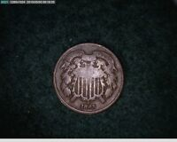 1865 TWO CENT CIVIL WAR COIN  11 115