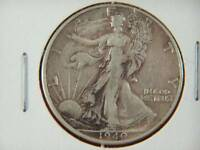 -VINTAGE 1940 S WALKING LIBERTY SILVER HALF DOLLAR