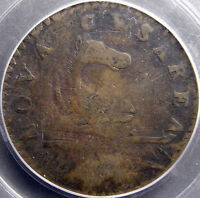 NEW JERSEY 1787 PCGS F15 OUTLINED SHIELD. CC116