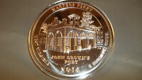 2016 5OZ. .999 SILVER AMERICA THE BEAUTIFUL HARPER'S FERRY WEST VIRGINIA  AR8K