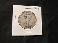 1940-S WALKING LIBERTY SILVER HALF DOLLAR