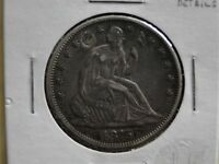 BETTER DATE 1875 CC SEATED LIBERTY HALF DOLLAR XF DETAILS CLEARANCE