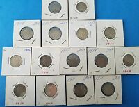 LIBERTY NICKEL COLLECTION 15 COINS-1900-1911