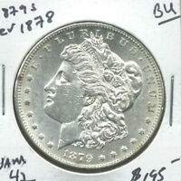1879 S  REVERSE OF 1878  IN BRILLIANT UNCIRCULATED,